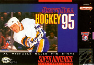Brett Hull Hockey '95 - SNES (Pre-owned)