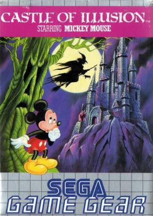 Castle of Illusion Starring Mickey Mouse - Game Gear (Pre-owned)