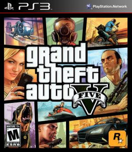 Grand Theft Auto V - PS3 (Pre-owned)