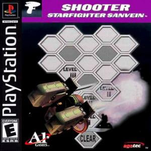 Shooter Starfighter Sanvein - PS1 (Pre-owned)