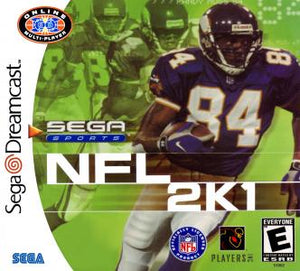NFL 2K1 - Dreamcast (Pre-owned)