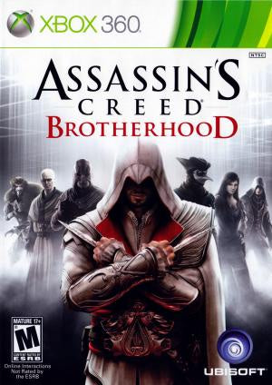 Assassin's Creed: Brotherhood - Xbox 360 (Pre-owned)