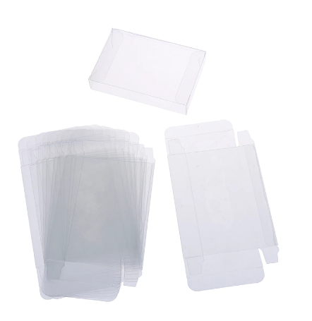 Box Protectors for Video Game Boxes, Cases and Cartridges
