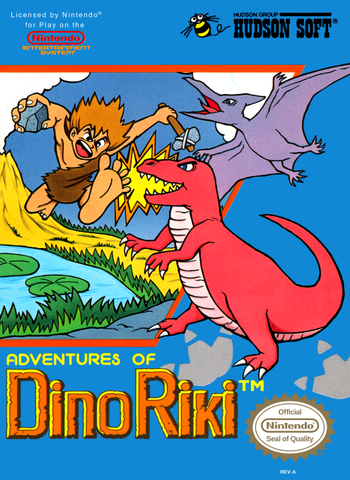 Adventures of Dino Riki - NES (Pre-owned)