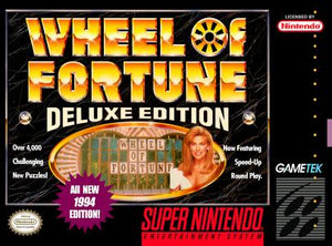 Wheel of Fortune Deluxe Edition - SNES (Pre-owned)