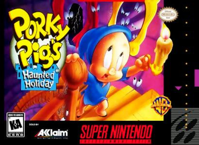 Porky Pig's Haunted Holiday - SNES (Pre-owned)