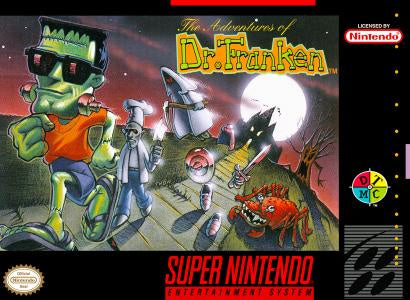 Adventures of Dr Franken - SNES (Pre-owned)