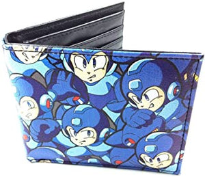 MEGAMAN - Pattern Quickturn Bifold Wallet