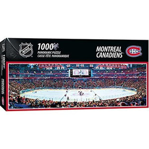 MasterPieces NHL Montreal Canadiens Panoramic Puzzle (1000 pieces)