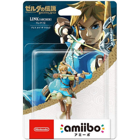 Link (Archer) LOZ Breath of the Wild Amiibo Accessory (Japanese)