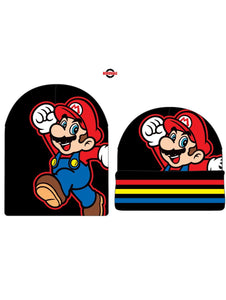 SUPER MARIO BROS - MARIO - Rev Slouch Knit Cap