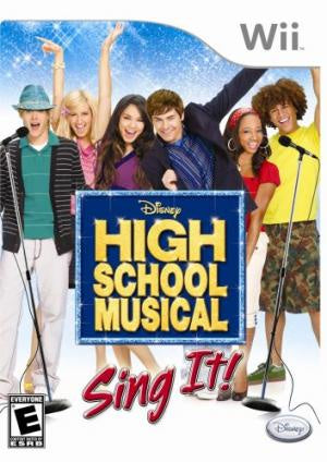 High School Musical Sing It - Wii (Pre-owned)