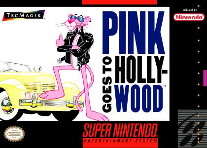 Pink Panther Goes to Hollywood - SNES (Pre-owned)