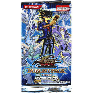 Yu-Gi-Oh Cards 5D's - Yusei - Duelist Booster Pack