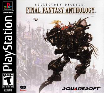 (BL) Final Fantasy Anthology - PS1 (Pre-owned)