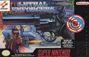 Lethal Enforcers - SNES (Pre-owned)