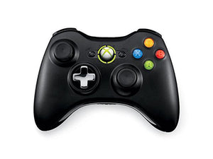 Xbox 360 Wireless Controller Black Official