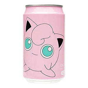 Jigglypuff Ocean Bomb Sparkling Water Peaches Flavour 330ml