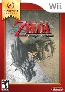 The Legend of Zelda Twilight Princess: Nintendo Selects - Wii (Pre-owned)