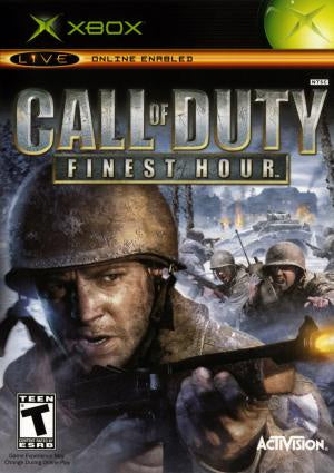 Call of Duty Finest Hour - Xbox (Pre-owned)