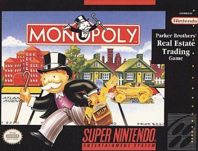 Monopoly - SNES (Pre-owned)