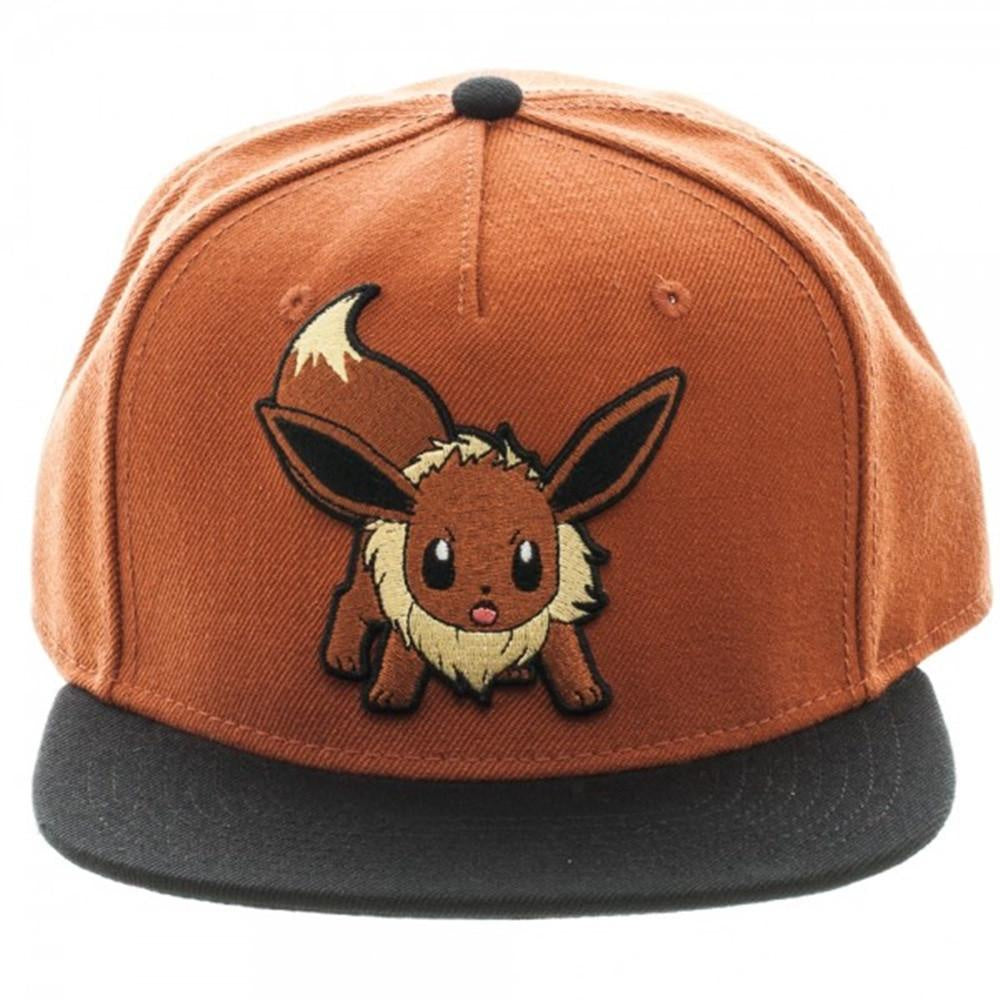 POKEMON - Eevee Color Block Snapback