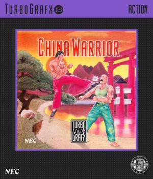 China Warrior - TurboGrafx-16 (Pre-owned)