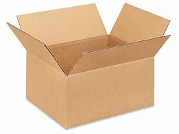 "12 x 10 x 6"" Corrugated Cardboard Shipping Box"