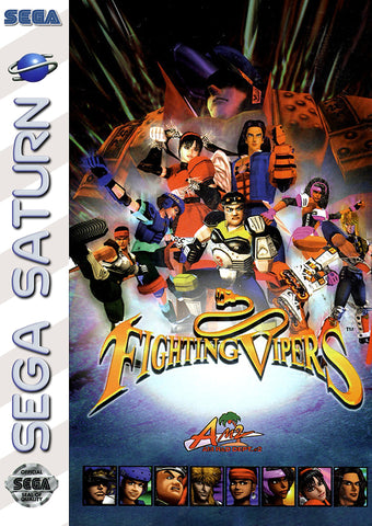 Fighting Vipers - Saturn (Pre-owned)