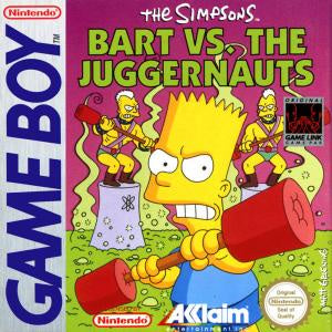 The Simpsons Bart vs the Juggernauts - GB (Pre-owned)