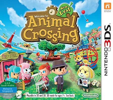 Animal Crossing: New Leaf (UAE Version, English, NTSC) - 3DS