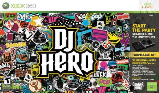 DJ Hero (Game Only) - Xbox 360 (Pre-owned)