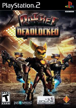 Ratchet Deadlocked - PS2 (Pre-owned)