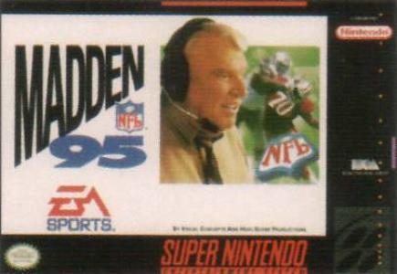 Madden NFL '95 - SNES (Pre-owned)