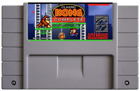 Classic Kong Complete (Reproduction) - SNES (Pre-owned)