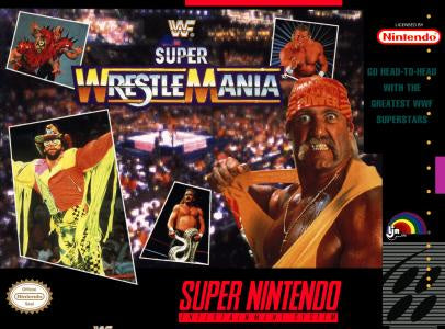 WWF Super Wrestlemania - SNES (Pre-owned)