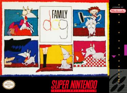 Family Dog - SNES (Pre-owned)