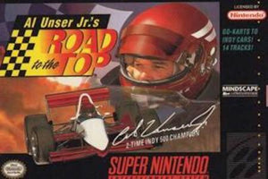 Al Unser Jr.'s Road To The Top - SNES (Pre-owned)