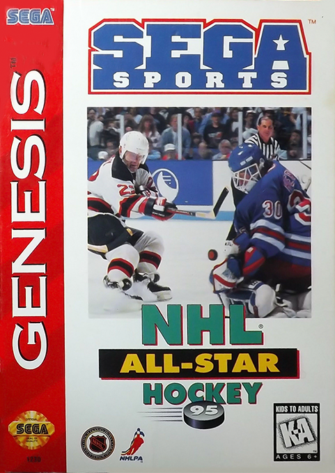 NHL All-Star Hockey 95 - Genesis (Pre-owned)
