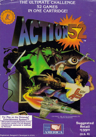 Action 52 - NES (Pre-owned)