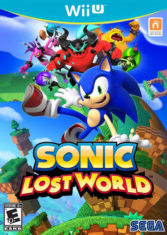 Sonic Lost World - Wii U (Pre-owned)