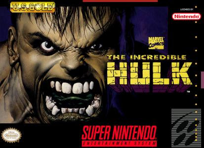 The Incredible Hulk - SNES (Pre-owned)