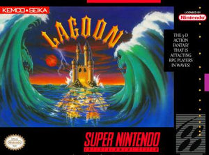 Lagoon - SNES (Pre-owned)