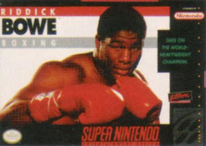 Riddick Bowe Boxing - SNES (Pre-owned)