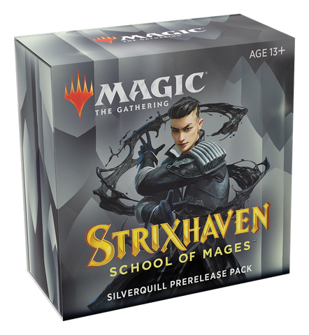 MTG Strixhaven: School of Mages Prerelease Pack Kit with 2 Free Packs - Silverquill