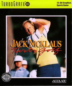 Jack Nicklaus Turbo Golf - TurboGrafx-16 (Pre-owned)
