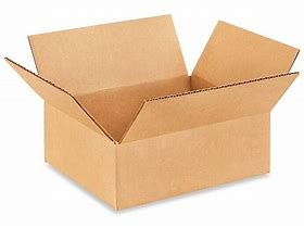 "9 x 7 x 3"" Corrugated Cardboard Shipping Box"