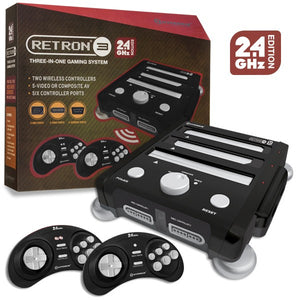 Retron 3 3 in 1 Console 2.4 Ghz edition Onyx Black