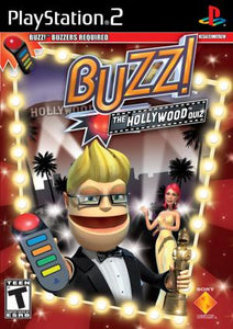 Buzz!: The Hollywood Quiz - PS2 (Pre-owned)