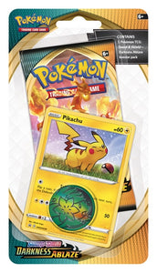Pokemon: Darkness Ablaze Checklane Blister - Pikachu